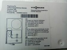 Viessmann Vitodens 300 intemperie realizzato controllo-decise art.nr.74045909134