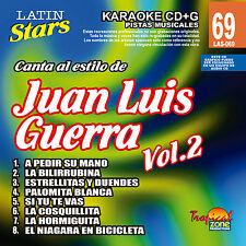 Karaoke Latin Stars 69 Juan Luis Guerra Vol.2