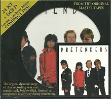 Pretenders Pretenders 24 KT Gold CD Audio FidelityAFZ 052 OOP
