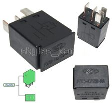 3523252 Genuine Ford Fiesta Focus Mondeo Multi Purpose Black relay F57B14B192AA