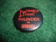DIVINYLS - THUNDA FROM DOWNUNDA - ORIGINAL CONCERT TOUR BUTTON - 1983