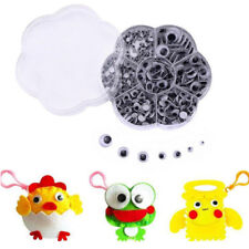 700Pcs 7Size Googly Eyes Self-adhesive Google Wiggly Eye Craft Embellishments