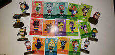 animal crossing amiibo lot - cards and figures