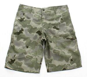 Zoo York Signature Green Surplus Camo Board Shorts Men's NWT
