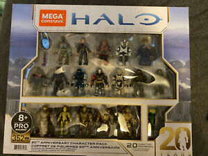 Mega Construx Pro Halo 20th Anniversary Character 5 Pack Brand new In Hand
