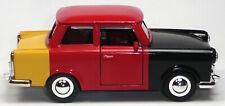 Trabant 601 schwarz-rot-gold Trabi Modellauto ca. 1:30 = 12,5cm Neuware Trabbi