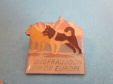 Metal & Enamel Pin Badge. Jungfraujoch, top of Europe.  Good Condition