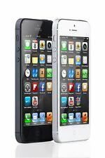 Apple iPhone 5 iOS Smartphone ohne Simlock 16GB 4 Zoll Schwarz Bluetooth WLAN