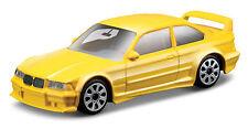 BMW M3 GT Cup gelb Maßstab 1:43 von bburago