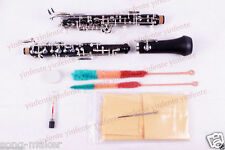 New Oboe Nice Sound C key Ebonite Body 3rd Octave left F Resonance F Profession
