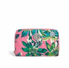 Vera Bradley Turnlock Wallet  - Tropical Paradise - NEW WITH TAGS