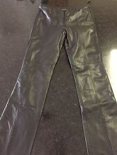 Guess Leather Pants - Size 2 - Black (Lot B)