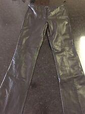 Guess Leather Pants - Size 2 - Black (Lot B)