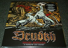 DRUDKH-A FURROW CUT SHORT-2015 2xLP TRANSPARENT RED VINYL-LIMITED TO 300-NEW