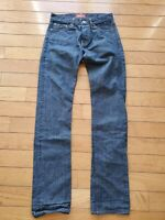 Mens THE STRONGHOLD Los Angeles Selvedge Denim Jeans 30x32