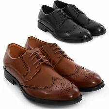 Zapatos Hombre Elegantes Clásico Derby Mocasines Richelieu Ceremonia Toocool Y26