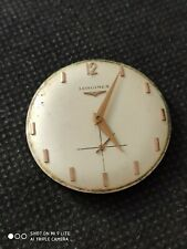 Vintage Longines 370 gents watch movement, with dial . Working