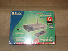 D Link DWL-926 108 Mbps 802.11 G 2.4GHZ Kit Wireless