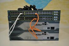 Cisco CCENT, CCNA & CCNP LAB KIT 2x 2821 15.1 IOS 2x 3550-24 LAYER 3 SWITCH