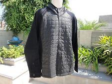 Icebreaker DEPARTURE MerinoLOFT Hooded Jacket, Black/Metro/Stealth, Men's Large