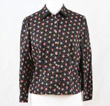 Hauts et chemises vintage noir coton mélangé pour femme