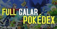 Pokemon Sword and Shield Home Full Galar Pokedex Ultra Shiny 6IV BATTLE READY