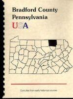 PA Bradford County Pennsylvania USA Troy Rome 1885 Gazette Outline history RP