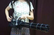 Rotate Vulcan M134 minigun model dummy cosplay drama prop cañón es giratorio