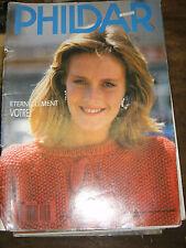 Phildar Mailles N°150 Modèles femmes tricot Vintage Laine Pull