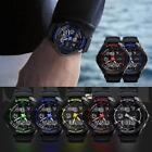 Multi-Function Cool S-Shock Sports Watch LED Analog Digital Waterproof Alarm LN