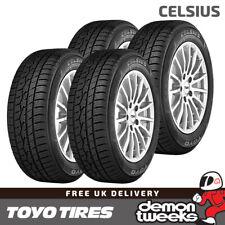 4 x Toyo Celsius All Season Road Tyres - 195 65 15 91H TL