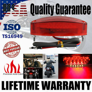 Motorcycle 28 LED Tail Brake Stop License Plate Light for Cruiser Dirt Bike ATV