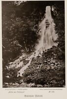 JUNGHANS & KORITZER, Trusetaler Wasserfall, Thüringen, 1891, Fotografie