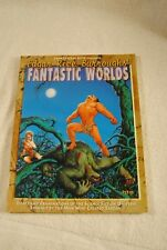 EDGAR RICE BURROUGHS FANTASTIC WORLDS James Van Hise 1996 1ST PRINTING BOOK