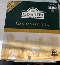 AHMAD TEA LONDON Cardamom Tea Bags 200g Cardamom Tea Excellent Quality Approx 60
