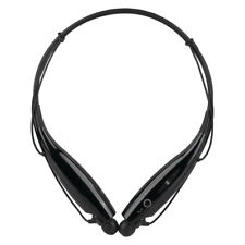 Neckband Bluetooth Noise Reduction Headphone Cordless Stereo Headset Black