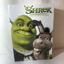 Shrek The Story So Far Dvd, 2004, 4-Disc Set With 4 pairs of 3D Glasses like new