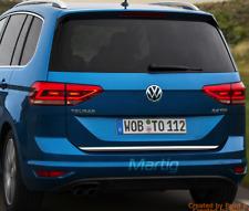 VW Touran III 5T1 2015- Chrom Zierleiste Heckleiste Heckklappe 3M Chromleiste
