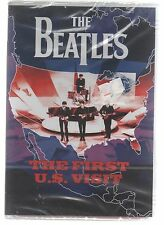 THE BEATLES THE FIRST U.S. VISIT DVD SEALED!!