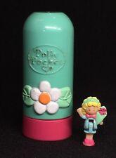 Polly Pocket Mini 💛 1992-Polly Pocket pop ups Flower lápiz labial flor