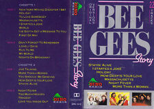 BEE GEES Story - 2 Cassettes - Tapes   SirH70