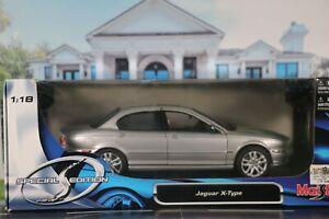 Maisto Jaguar X Type 1:18 scale. ** Please read item description**