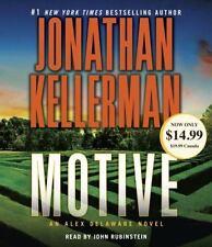 Motive : An Alex Delaware Novel by Jonathan Kellerman (2016, CD, Abridged)