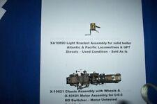 American Flyer Original Part - Xa10890 Light Bracket Assembly