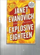 JANET EVANOVICH - EXPLOSIVE EIGHTEEN  - LARGE PRINT - LP112