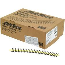 """Quik Drive #6 X 1-5/8"""" Collated Phillips Drywall Screw 2500/Pk DWC158PS"""