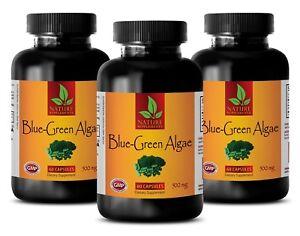 Organic Klamath BLUE GREEN ALGAE 500mg - stem cell powder - 3 Bottles