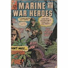 Marine War Heroes #14 Silver-Age War 1966 Charlton Comics