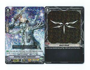Cardfight!! Vanguard V-SS06 Starting Legend, Ambrosius + Quick Shield