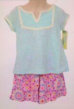 NEW Genuine Kids From Oshkosh Girls Shorts Outfit 2 Piece Set Size 4T
